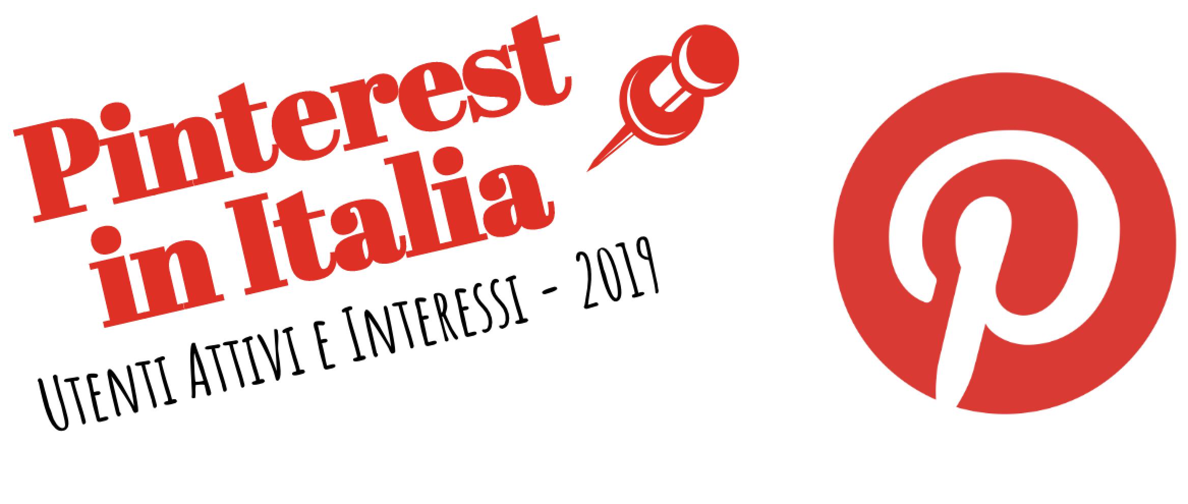 Dati Pinterest in Italia nel 2019