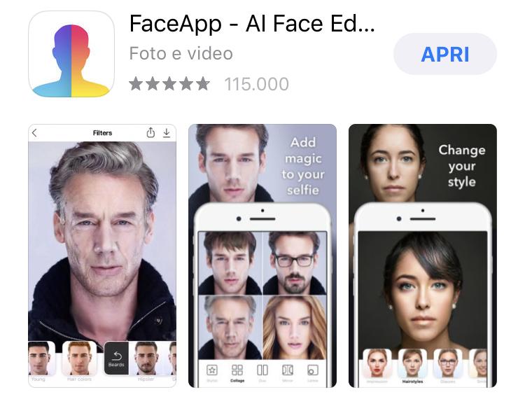 👴🏻👱🏻👦🏻 FaceApp, numeri di un trend improvviso.