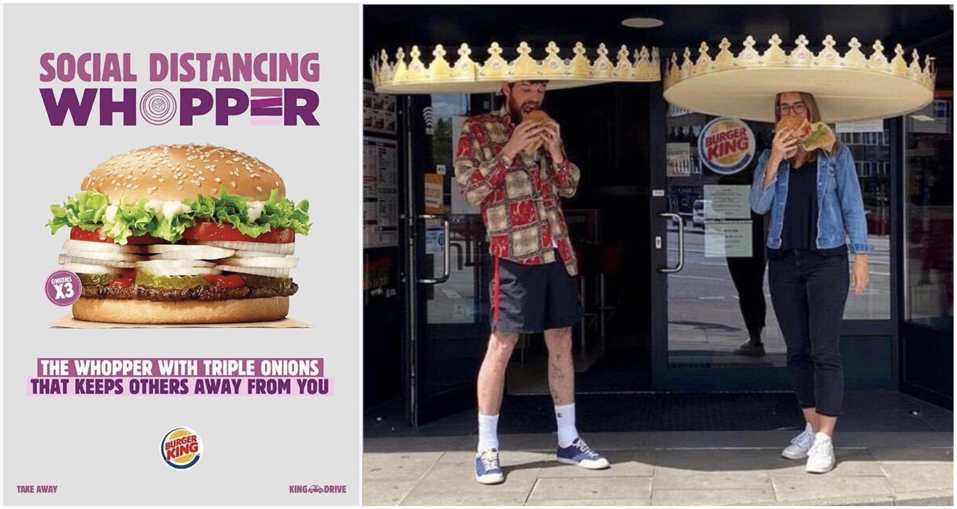 Case Study: 7 ispirazioni da Burger King durante il Covid19