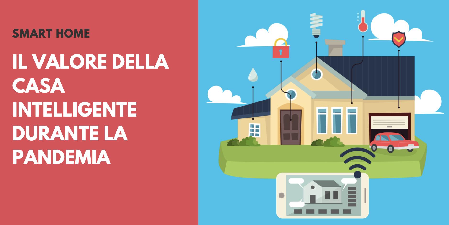 Smart Home, il valore della casa intelligente durante la pandemia. Trend e mercato.